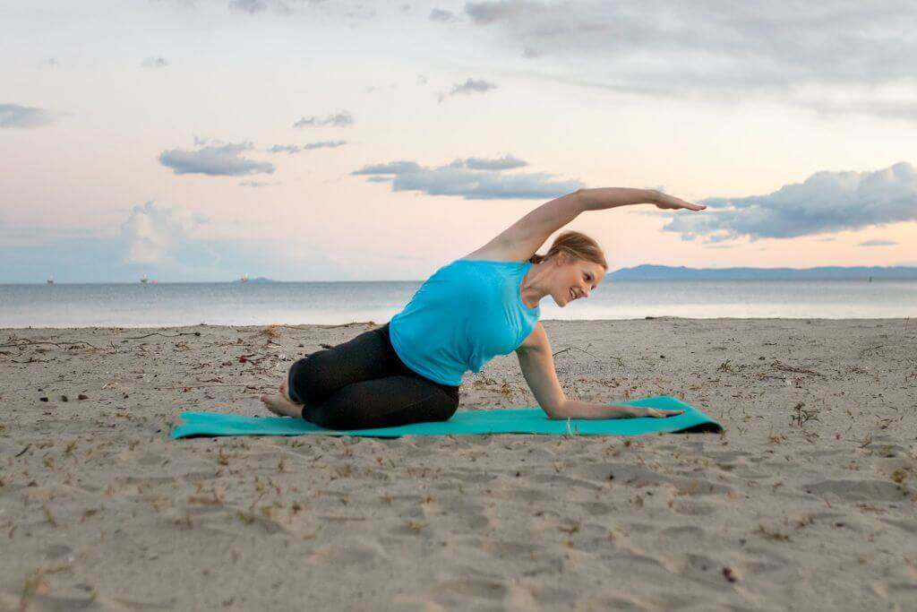 Proper Pilates Breathing from Robin Long + The Balanced Life