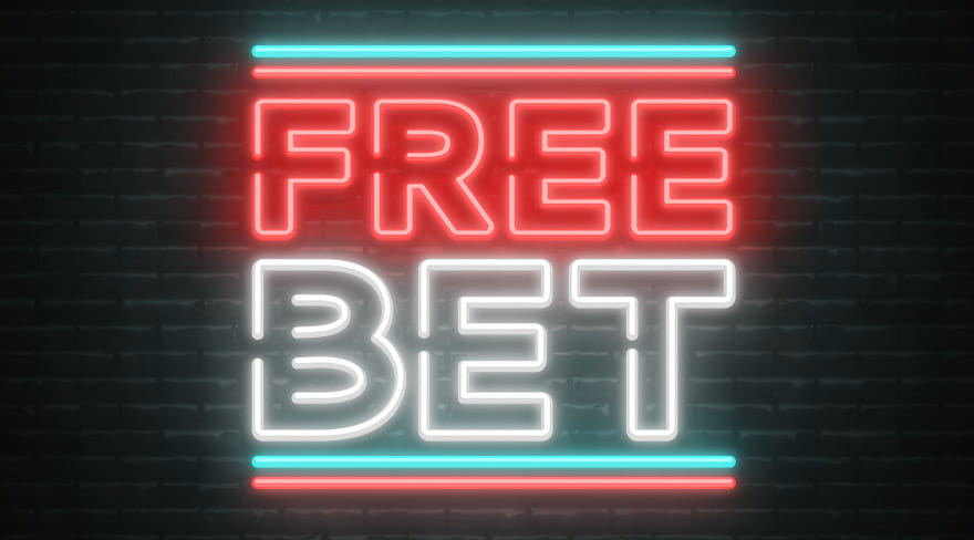 Free Bet Neon Sign